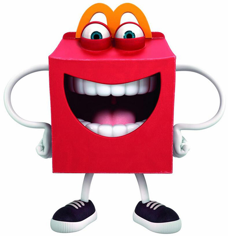 Happy Meal Mascot