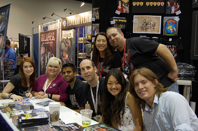 SDCC Booth 2009