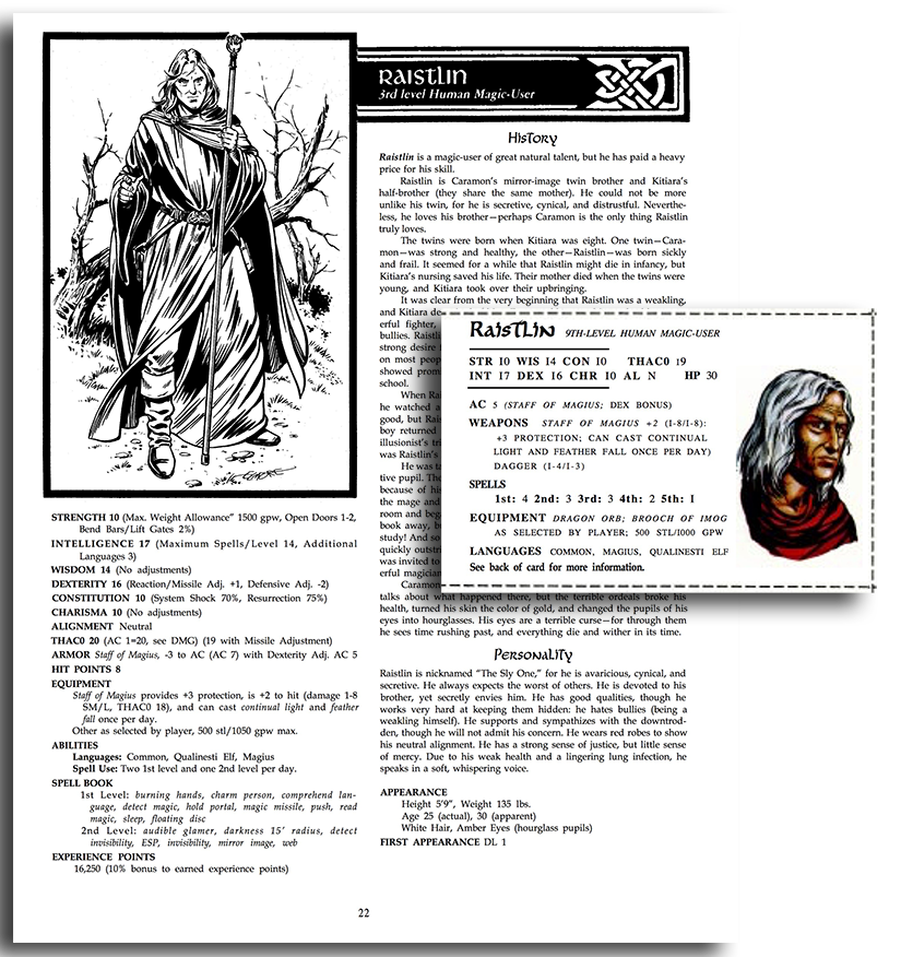 D&D - Building Character (Sheets)