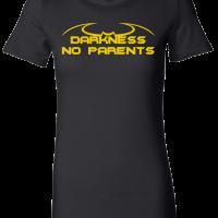 Darkness-womensfittedblack