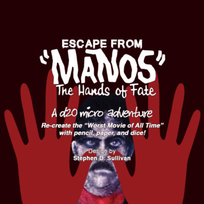 Manos Microgame Title Card